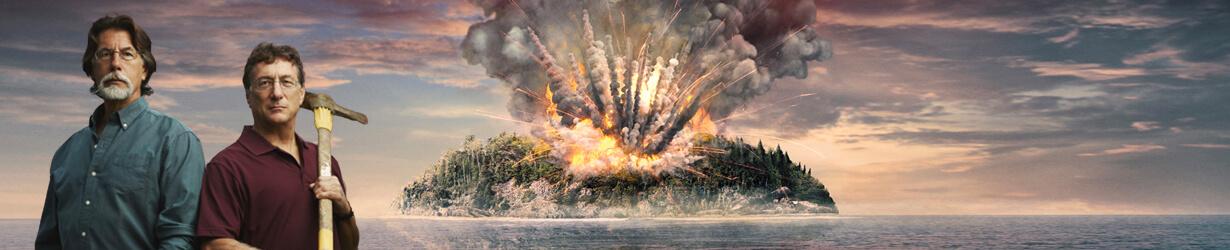 Curse of Oak Island on Sky HISTORY2