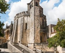 Convent of Christ Castle in Tomar, Portugal, a former Templar stronghold