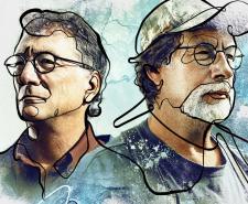 Gary Drayton, Dan Henskee and Rick Lagina discover two new items