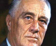 1944 Color portrait of Franklin Delano Roosevelt | FDR Presidential Library & Museum | Public Domain