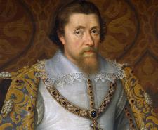 King James I and VI - Portrait attributed to John de Critz, c. 1605