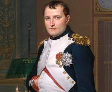The Emperor Napoleon in His Study at the Tuileries by Jacques-Louis David
