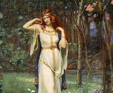 'Freyja and the Necklace' by James Doyle Penrose, 1890