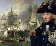 A portrait of Horatio Nelson