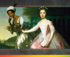 Painting of Dido Elizabeth Belle by David Martin