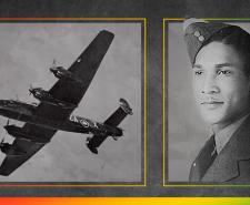 John Jellicoe Blair and an RAF Plane