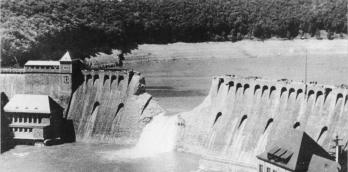 Eder Dam on 17 May 1943