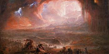 Destruction of Pompeii and Herculaneum by John Martin