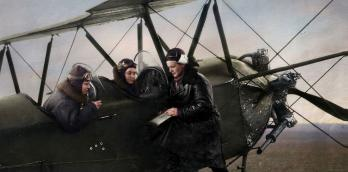 Image of the 46th Taman Guards Night Bomber Aviation Regiment also known as the 'Night Witches.'
