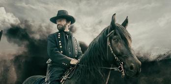 Justin Salinger plays Ulysses S. Grant in Grant
