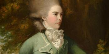 Duchess of Gordon painted by Daniel Gardner