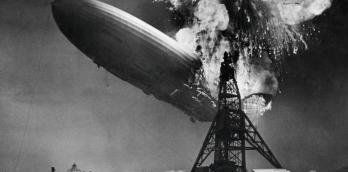 The Hindenburg disaster - three air disasters caught on camera