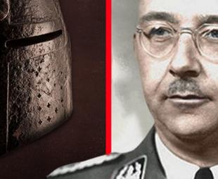 A helmet once owned by Heinrich Himmler