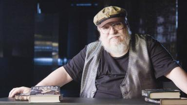 George R. R. Martin speaking to HISTORY for Superheroes Decoded