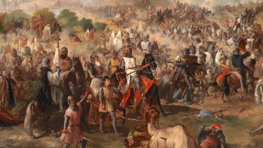 Batalla de las Navas de Tolosa by Francisco van Halen