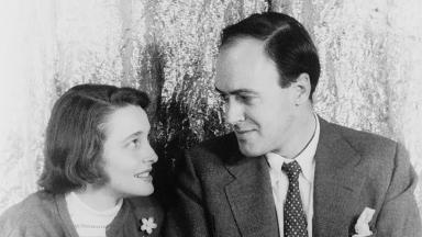 Roald Dahl and Patricia Neal | Library of Congress