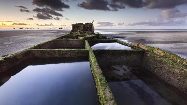 Arromanches' Mulberry Harbour by Stéphane Hurel
