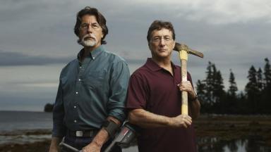 Curse of Oak Island: Rick and Marty