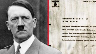 Hitler's letter authoring Aktion T4