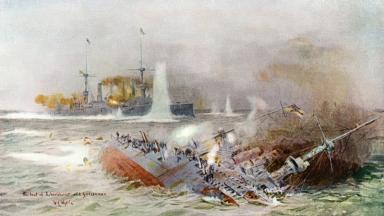 Battle of Falklands 1914, William Lionel Wyllie,