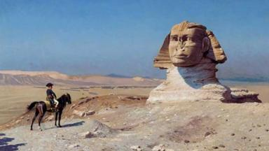 Bonaparte Before the Sphinx, (by Jean-Léon Gérôme, 1868