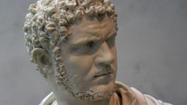 Bust of the Emperor  Caracalla who was of African descent