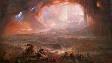 Destruction of Pompeii and Herculaneum by John Martin