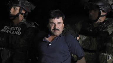 Joaquin Guzman Loera aka El Chapo, one of the more infamous drug lords
