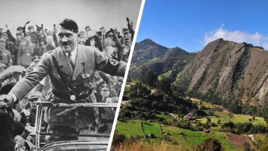 It's alleged that Hitler survived WW2 and escaped to Colombia.
