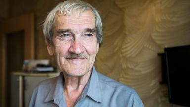 Remembering Stanislav Petrov, the Soviet officer who saved the earth. (AP Photo/Pavel Golovkin)