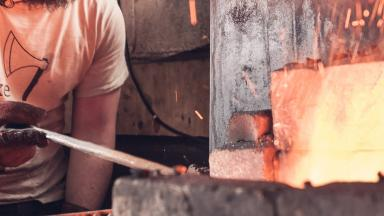 Step into Josh Burrell's Forge
