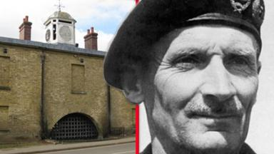 Weedon Bec supply depot and Field Marshal Bernard Law Montgomery