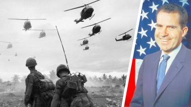 Did Nixon prevent an early end to the war in Vietnam?