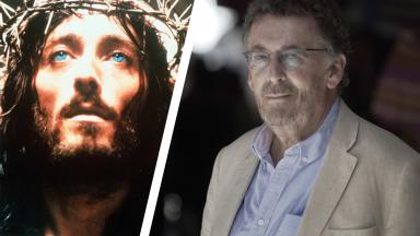 Robert Powell then and now.