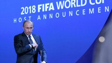 What are Putin's plans for the 2018 World Cup?