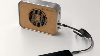 We are giving away 10 limited edition Tin Amp portable tin speakers