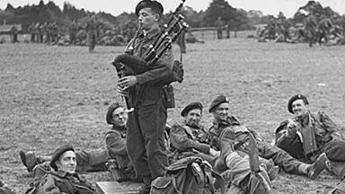 Bill Millin, the bagpiper of D-Day