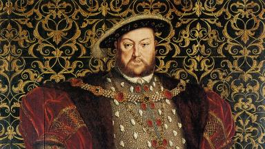 Portrait of Henry VIII of England by Hans Eworth