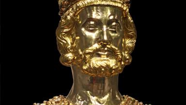 Reliquiary of Charlemagne in Aachen cathedral