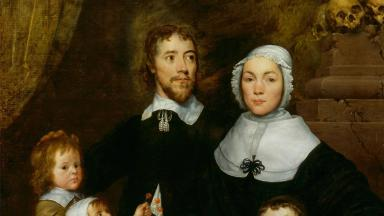 William Dobson - Portrait of a Family, Probably that of Richard Streatfeild