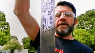 The Suttonn Hoo sword