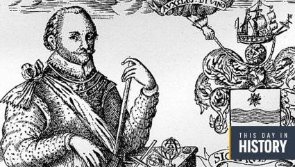 Today marks the day Francis Drake returns to Plymouth to become the first British navigator to sail the earth.