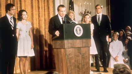On this day in history Nixon resigned as President of the United States