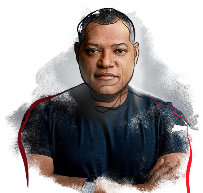 Laurence Fishburne, host of History's Greatest Mysteries