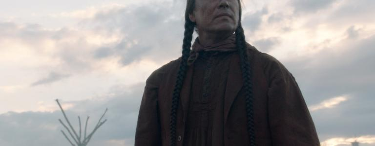 Sitting Bull as depicted in Robert Redford's The West