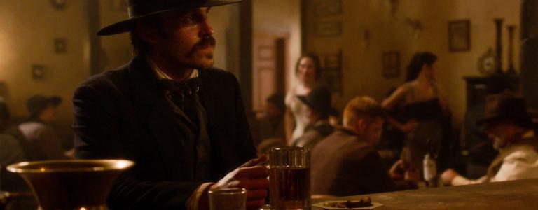 Wyatt Earp as depicted in Robert Redford's The West.