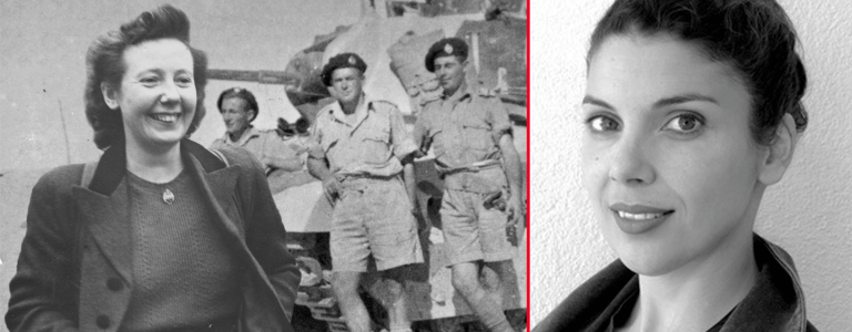 Anna Priestland, writer of Letters of Love in WW2