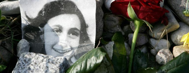 Today marks the date Anne Frank and her family were captured.