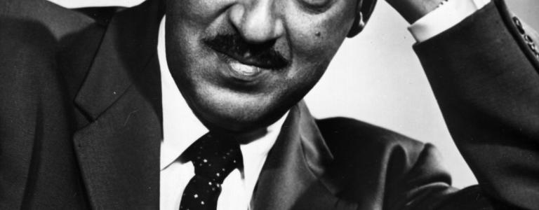 Portrait of a young Thurgood Marshall, who was as appointed to sit on the Supreme Court in 1967.