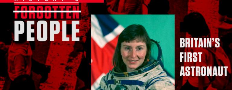 Helen Sharman's official cosmonaut photograph.Credit: Gagarin Research & Test Cosmonaut Training Center